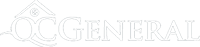 QCGeneral logo, containing an icon of the roof and a window of a house